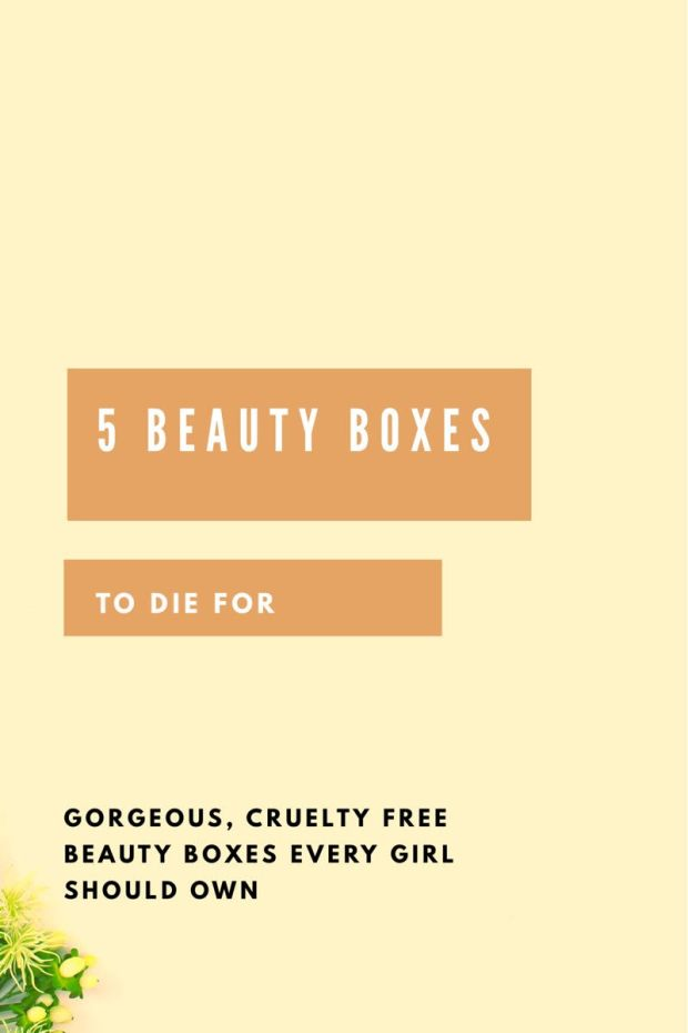 5 Beauty Subscription Boxes