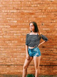 outfit 2 stripy top and jeans